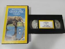 In the country of the Elephants-vhs tape national geographic video tape