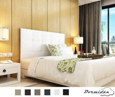 Cabecero Oslo polipiel, varios colores, MAYOR ALTURA cama matrimonio / juvenil