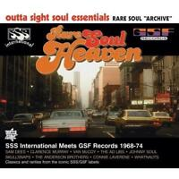 RARE SOUL HEAVEN SSS Int Meets GSF NEW & SEALED NORTHERN CD (OUTTA SIGHT) 70s