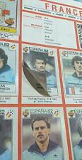 PANINI WC ESPANA 82 SPAIN  - select 5 stickers removed (not cut) from the list