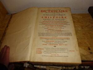 MORERI (Louis) - Le grand dictionnaire historique ou le mélange curieux VOL7.