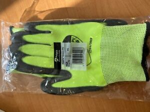 Size 8 Polyco Matrix Green Work Gloves Resistant PU Palm Coated Hi Grip