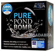 More details for evolution aqua pure pond bomb cleaning treatment clear healthy fish pond water