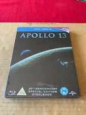 Apollo 13 - UK Exclusive Blu Ray Steelbook Brand New & Sealed OOS/OOP Rare