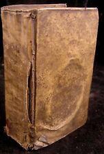 1751 Den Heyligen Oorlog door Joannes Bunjan (aka John Bunyan) A'dam - Vellum