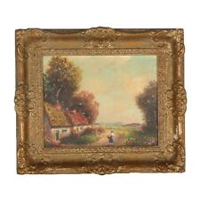 Antique 19/20th Century, Listed Artist - George Fields Oil Painting, Signed