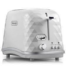 NEW DeLonghi Brillante Two Slice Toaster CTJX2003 White