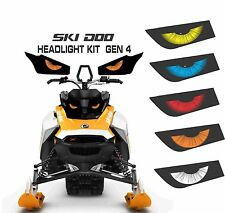 SKI DOO REV GEN 4 X SUMMIT RENEGADE  MXZ TNT 850 E HEADLIGHT  DECAL STICKER 3
