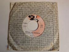 """MONTY: Bientot les vacances / L'amour s'en va 7"""" 45T 1967 JUKEBOX BARCLAY 60579"""