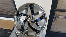 18 inch Velocity V825 Chrome wheels rims & Tires fit 4 X 100 4 X 4.5