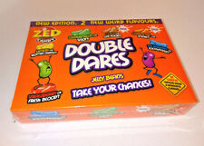 DOUBLE DARES JELLY BEANS Danger CANDY Fun SWEETS Snot SNAIL Fruit CAT FOOD Blood