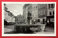 AK LANGENSALZA Thüringen 1954 Marktbrunnen mit Konsum   ( 7599