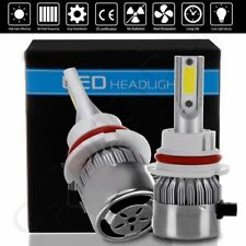 2018 Pure White 9004 COB 1500W 225000LM CREE LED Headlight Kit Lamps 6000K Bulbs