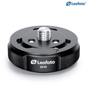 [US Dealer] Leofoto QS-50 50mm Quick Link Set, Tripod & Head Quick Release /ARCA
