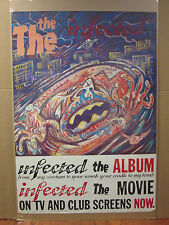 vintage 1986 The Infected original poster The Movie The Album 5986
