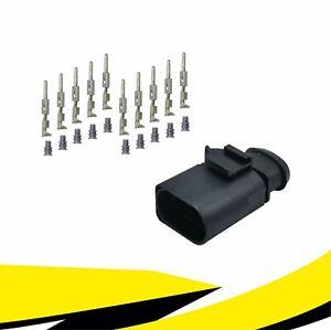 Stecker 10-polig Reparatursatz 6X0973815 für VW AUDI SKODA SEAT MT Crimp Kontakt