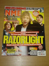 NME 2006 MAY 20 RAZORLIGHT KOOKS MUSE FRANZ FERDINAND