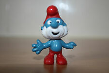 Original Papa Smurf 2.0001 Schtroumpfe Schlumpfe Puffi Good Condition