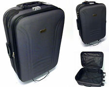 Koffer Trolley Reisekoffer Trolleys 2 er Set Sch Violett Mittel u. klein MC30008