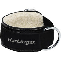 """Harbinger 3"""" Heavy Duty Ankle Strap Weight Lifting Cable Attachment"""