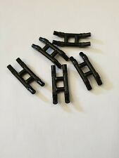 Lego black hinge train pantograph shoe(37494),5 parts
