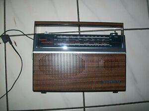 TELEFUNKEN Bajazzo Universal 301 braunes Kofferradio gepflegtes Sammlerstück #11