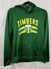 MLS Official Portland Timbers Soccer Kids Youth Sweatshirt Hoodie Size XL 18