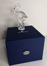 Swarovski Crystal Flamingo Pink Beak & Feathers In Original Box Please Read