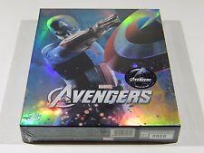 The Avengers (3D+2D) Blu-ray Steelbook [Korea] Novamedia FS CA ED.  #666/1000