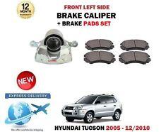 Per Hyundai Tucson 2.0 Crdi 2.7 2.0i 2005-2010 Anteriore SX Pinza Freno + Pads