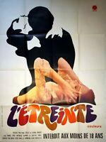 Plakat Kino Film L'Embrace Paul Spannzange - 120 X 160 CM