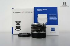 Brand New Carl Zeiss C Biogon T* ZM 35mm F2.8 Lens (BLACK) for Leica M
