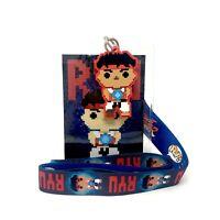 Funko Pop! Movies 8-Bit Ryu Street Fighter Lanyard Gamestop Exclusive Badge