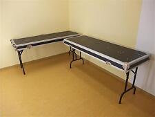 2 Tische in Case-Ausführung 2-TISCHE-CASE Klapptisch-Flightcase, DJ-Tisch NEU