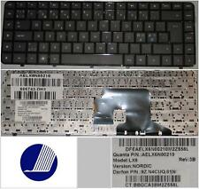 Qwerty Keyboard NE Nordic HP DV6-3000 LX6 AELX6I00210 9Z.N4CUQ.01N 606743-DH1