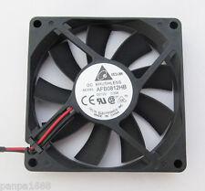 5pcs 80x80x15mm 80mm Delta AFB0812HB 8015 DC Ventola di raffreddamento della CPU 12V 0.2A 2pin FILO