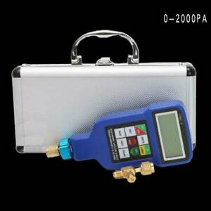 Refrigerant Digital Programmable & Alarm Electronic Vacuum Gauge Tester