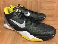 RARE🔥 Nike Zoom Kobe VII Supreme Del Sol Black Yellow 488244-001 Sz 13