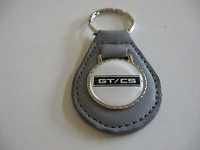 FORD MUSTANG SHELBY CALIFORNIA SPECIAL GT/CS BW KEYCHAIN KEYRING NEW DARK GREY