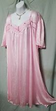 BRAND NEW ANKLE LENGTH PINK SHORT SLEEVE  NIGHT GOWN  PLUS SIZE 5X GIFT
