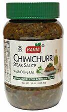 Badia Spices Organic Chimichurri Steak Sauce with Olive Oil - 16 oz
