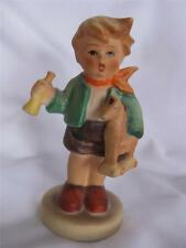 "Hummel young Boy with Horse W Germany 3.5"" Figurine 239/C Tmk-5 Sticker 1967"