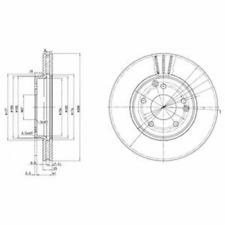 Brake Disc (2 Piece) - DELPHI bg3240c