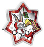 2018 Christmas Tree LOONEY TUNES 1oz Star Shaped Silver Proof $1 Coin Australia