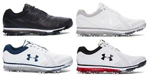 New Men's Under Armour Tempo Tour Golf Cleats & Spikes - 1270205 - MSRP $220