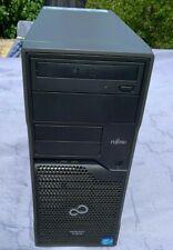Fujitsu Primergy TX100 S3 Server Xeon Quad Core E3-1220 3.10GHz 12GB RAM No HDDs