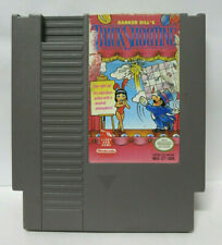 Nintendo NES Barker Bill's Trick Shooting Tested Video Game Cartridge Light Gun