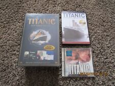 NEW Titanic 100 Years Below, Titanic The Definitive Documentary, FREE CD