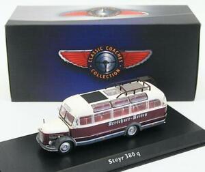 Atlas Editions 1/76 Scale Diecast Model Bus Coach 4642 121 - Steyr 380 q