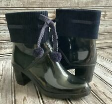 Marc By Marc Jacobs Short Rubber Rain Boots Sz 8.5